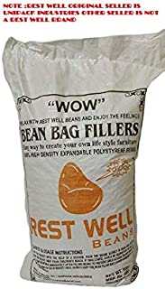 Rest Well Beans for Bean Bag Filler, 500 g , White