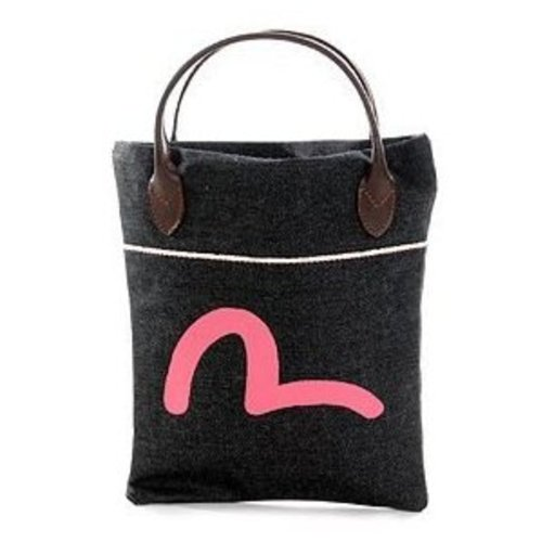 Evisu Bag selvedge denim mini shopper tas