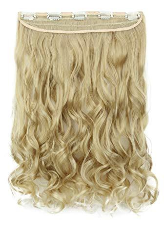 """PRETTYSHOP Prettyshop clip in extensions haarverlängerung 56 cm 22 zoll 22""""  blonde mix # 25t613 c54-1"""