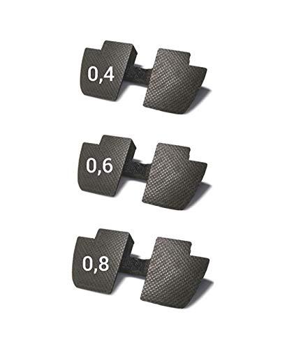 Myfuturshop® Pack de 3 Juntas Anti holgura para Xiaomi Patinete Scooter M365 (Black)