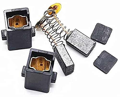LLXXD 1 Paar (2 Stück) Kohlebürste mit Halter Für Bosch TSB 1300 5500 TSB1300 TSB5500 GSB 550 570 GSB550 GSB570 Schlagbohrmaschine Ersatzteil