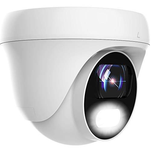 24/7 Full-Color 5MP/4MP/2MP/1080P HD TVI/AHD, 4MP/1080P HDCVI Dome CCTV Security Camera, Honic 3.6mm Lens Indoor Outdoor Color Night Vision Waterproof Analog Surveillance Camera