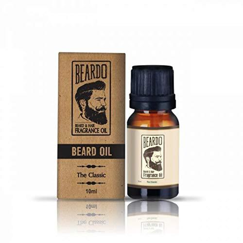 Glamorous Hub Beardo The Classic Aceite con fragancia para barba y cabello - 30 ml