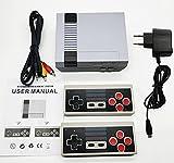Mini Consola Retro,Controladores Inalámbricos Duales de 2.4G,Incorporada en 620 Videojuegos Clásica (Salida AV)