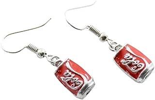 RUIZHEN Creative Coke Bottle Earrings Girl's Party Gift Special Earrings