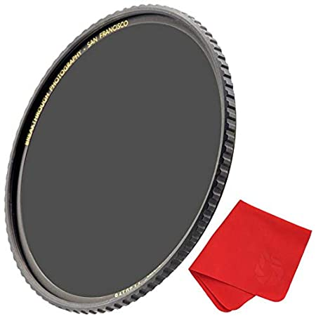 Breakthrough Photography 82mm X4 6-Stop Fixed ND Filter for Camera Lenses, Neutral Density Professional Photography Filter, MRC16, Schott B270 Glass, Nanotec, Ultra-Slim, Weather-Sealed