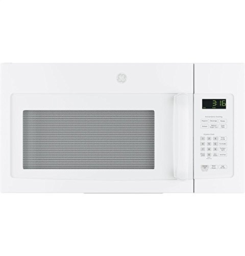 GE JNM3163DJWW Over-the-Range Microwave, White