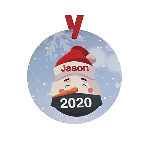 VEFSU 2020 Christmas Treee Ornaments Friends Gift | Holiday Xmas Tree Decorations | Toilet Paper Crisis | 2.7×2.7 Inch(J)