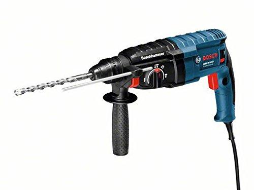 Bosch GBH 2-24 D - Martillo perforador (SDS-plus, 790 W, perforación 4-24 mm, peso de 2,8 kg) color azul y negro