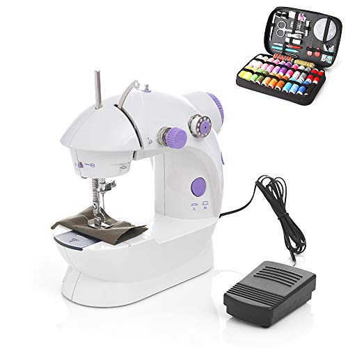Why Should You Buy Electronic Sewing Machine Mini Handheld Sewing Machine with Pedals Tailored for B...