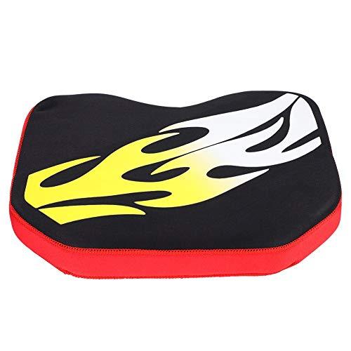 Yosoo Health Gear Cojín de Asiento Suave para Kayak, cómodo cojín de Asiento con Canoa para Kayak para remar, navegar y Pescar(Amarillo)