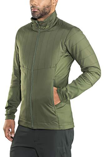 Bergans Fløyen Light Veste Isolante Homme, Seaweed/Khaki Green Modèle S 2018 Veste Polaire