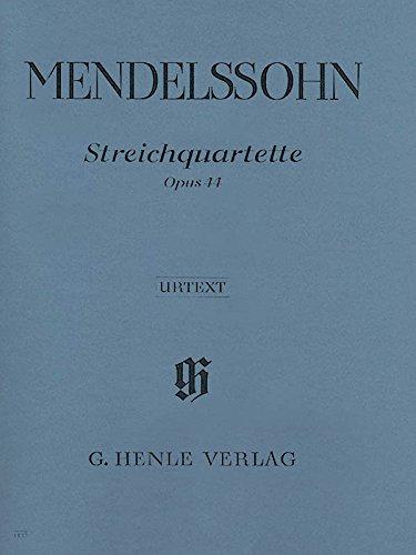 Streichquartette op. 44, 1-3