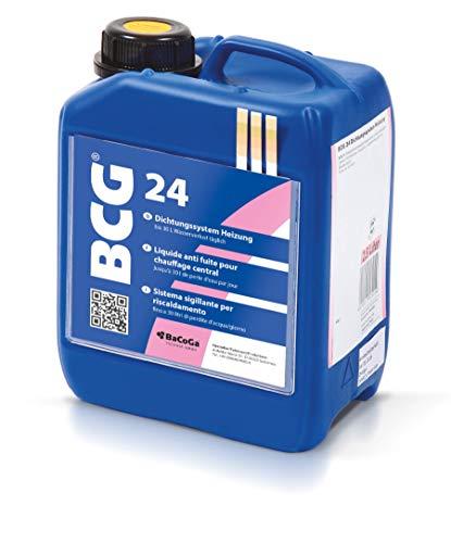 Vloeibare afdichtmiddel BCG 24 (2,5 l) tegen lekken in leidingen van verwarming.