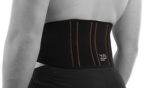 XO KINETICS - #1 Lower Back Lumbar Support Belt. Best for Sport or Work Related Back Pain - Highest Grade 88% Copper Nylon, for Both Men and Women. Size 28-35 inch