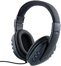 Stereo Gaming Over-Ear Headphone Headset Headband with Mic for PC Computer Game with Noise Cancelling & Volume Control 3.5...