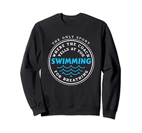 Allenatore di nuoto Nuotatore / Squadra di nuoto / Felpa