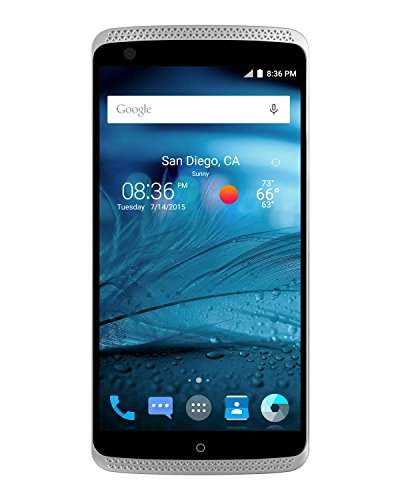 ZTE Axon Pro Factory Unlocked Phone, 64 GB Chromium Silver (U.S. Warranty)