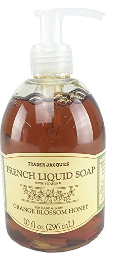 Trader Joes Trader Jacques French Liquid Orange Blossom Honey Hand and Body Soap