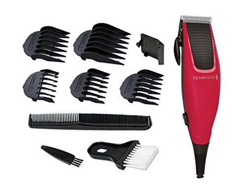 Remington Professional Apprentice Corded Hair Clippers with 5 Comb Clips...