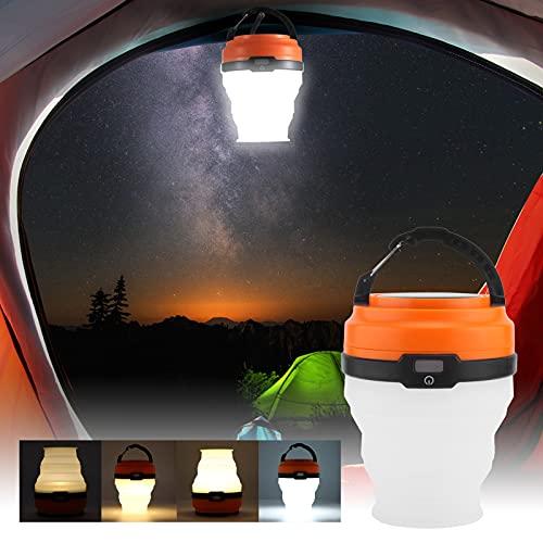 Aoca Luz de Tienda al Aire Libre, lámpara de Camping portátil Ligera para Acampar o IR de excursión
