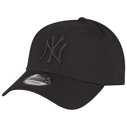 New Era ERA MLB League Gorra, Unisex, Negro, Talla Única
