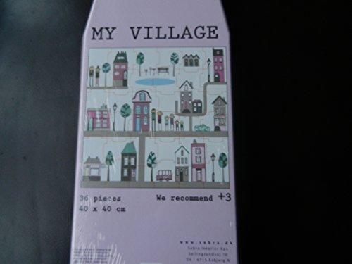 Sebra Village Puzzle
