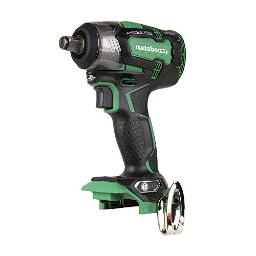 Metabo HPT 18V Cordless Impact Wrench   225'-LBS of Torque   1/2'...