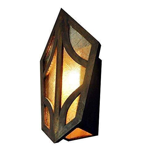 Heavy Metal Gem Wandlamp Industrial Retro Turtle Shell wandlamp Vintage Steampunk Ouderwets Glas Wandkandelaar Lantern Wandlamp Bracket Light Wall Lights