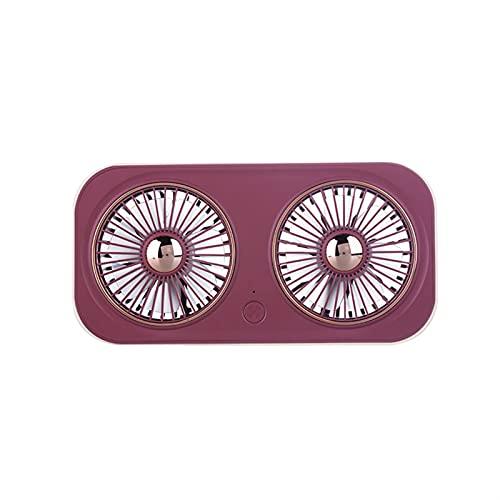 YGGFA Ventilador portátil Refrigerador Mano Escritorio USB Recargable Ventilador 5V Volt Viaje al Aire Libre Situación Silent Cooler Fan Ventilador Pequeño Aire Enfriamiento Mini Fan