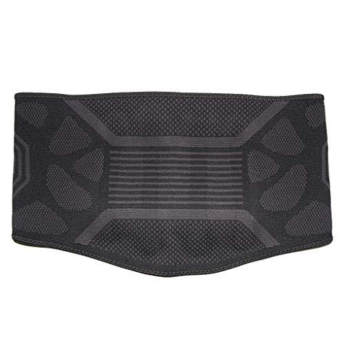 SHJMANAP Comodidad Faja Lumbar para Hombre Y Mujer - Cinturón Protector De Los Lumbares En Actividades Deportivas, El Gimnasio Y En El Trabajo - Evita Lesiones Y Dolor De Espalda Bonita, XL