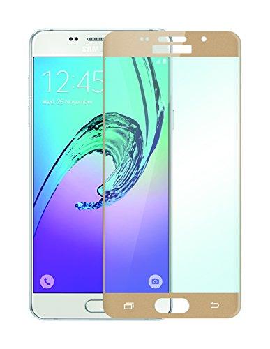Phonix SA516TSG Displayschutzfolie 2.5D Silk für Samsung Galaxy A5 (2016) Gold