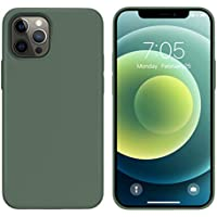 Ouxul 6.1 Inch Silicone Gel Rubber Protective Case for iPhone 12 /12 Pro