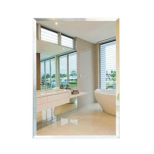 FYMDHB886 Bad Wandspiegel Rahmenlose Rechteck Wandspiegel Poliert Kosmetikspiegel für Bad Schlafzimmer Unterputz Badspiegel