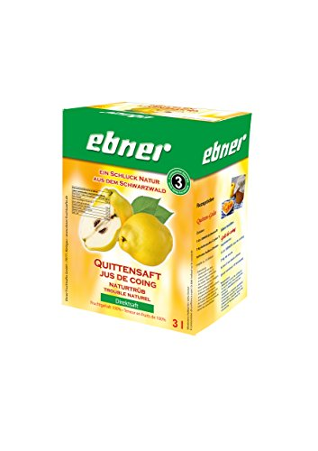 Ebner Quittensaft *Direktsaft* 100 % Saftgehalt 3 Liter Bag-in-Box