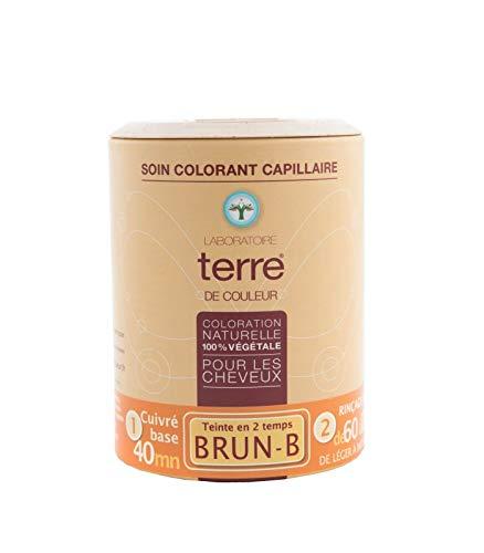 Terre de Couleur Coloration Végétale Brun B 100 g
