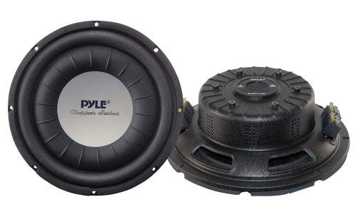Pyle PLMRW10 10 inch 500W 4Ohm Marine Subwoofer White