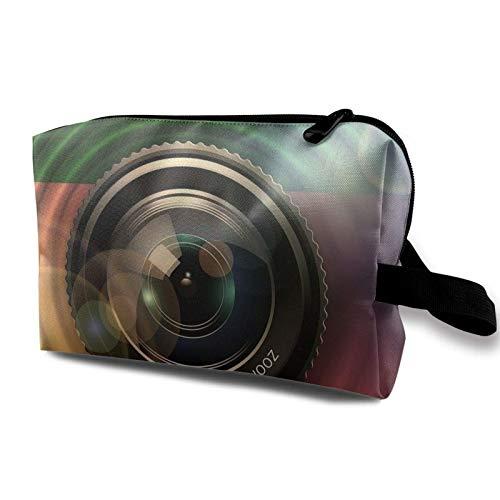 XCNGG Bolsa de almacenamiento de maquillaje de viaje, bolso de aseo portátil,...