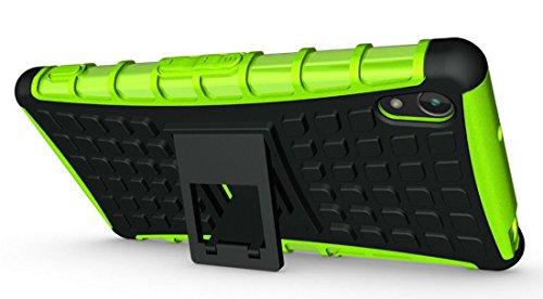 Carcasa de silicona para Sony Xperia Z5, diseño compacto y absorbente de golpes de 4,6 pulgadas