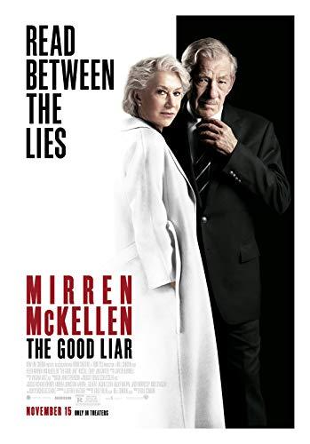 The Good Liar Movie Poster Glossy High Quality Print Photo Wall Art Helen Mirren, Ian McKellen Size 27x40#1