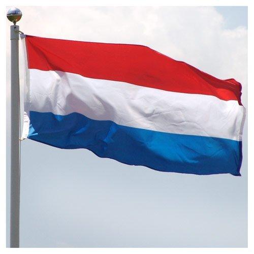 US Flag Store Superknit Drapeau des Pays-Bas en polyester pour supporters de la Coupe du monde 0,91 x 1,52 m