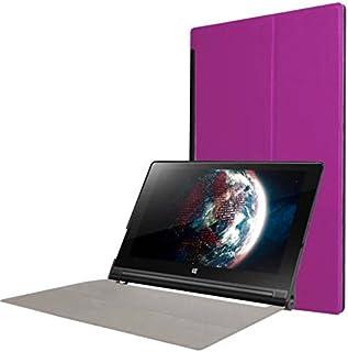 Protección Caja para Lenovo YOGA Tab 3 10 YT3-X50 F L 10.1 Pulgadas Smart Slim Case Book Cover Stand Flip (Violeta) NUEVO