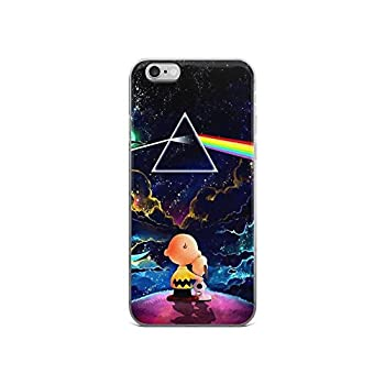 Gryss Compatible with iPhone 6/6s Case Pink Floyd Logo Pretty Galaxy Arts Rock Music Fans Pure Clear Phone Cases Cover