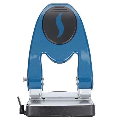 JULYKAI 2‑Hole Punch, Anti-slip 6mm Hole Diameter Desktop Labor‑Saving 50 Sheet Hole Punch, for Hole Punching Paper