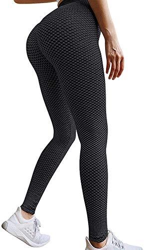 LINKE TIK Tok Leggings da Donna, Pantaloni da Yoga a Vita Alta,da Palestra,Sexy