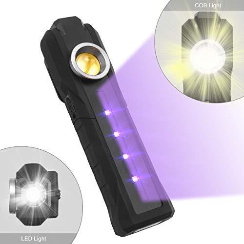 Osaloe Lampada Germicida Ultravioletta, Sterilizzatore a Luce UV Portatile 3 in 1 con Lampada Disinfettante USB, Lampada Sterilizzazione Ultravioletta per Casa, Cucina, Ufficio, Hotel, Giardino