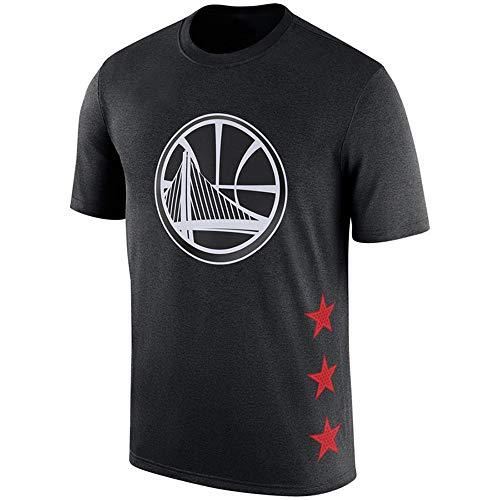 Camiseta De La NBA Golden State Warriors Stephen Curry Cuello Redondo Deportivo Manga Corta