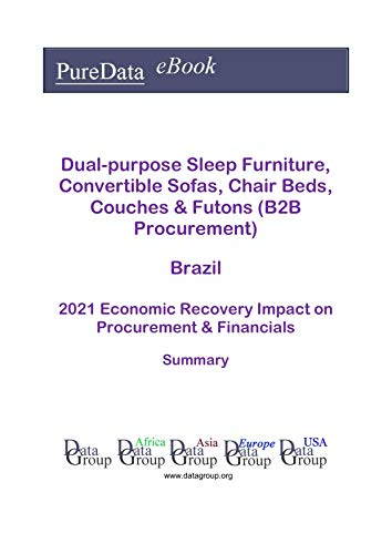 Dual-purpose Sleep Furniture, Convertible Sofas, Chair Beds, Couches & Futons (B2B Procurement) Brazil Summary: 2021 Economic Recovery Impact on Revenues & Financials (English Edition)