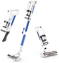 Cordless Vacuum Cleaner, whall 22Kpa Suction 250W Brushless Motor Cordless Stick Vacuum Cleaner, up to 53mins Runtime, 4 in 1 Lightweight Handheld Vacuum for Home Hard Floor Carpet Pet Hair