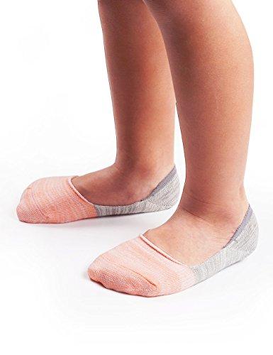 BabaMate 6 Pairs Baby Toddler Little Kids No Show Socks - Boat Shoes Kids Socks - Boys Girls Cotton Athletic Socks